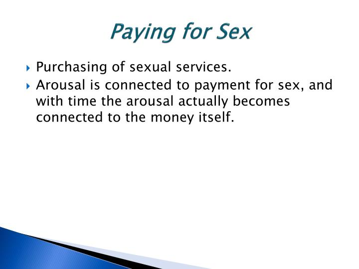 Paying for Sex