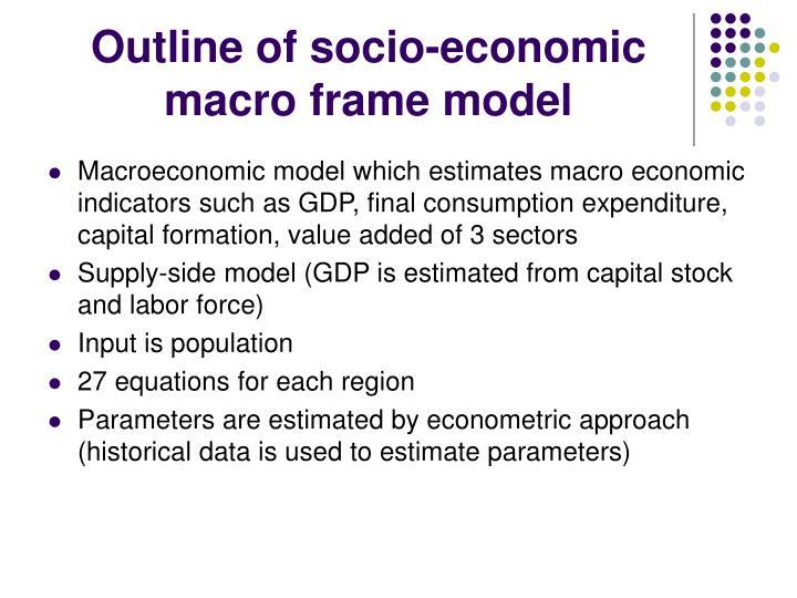 Outline of socio-economic
