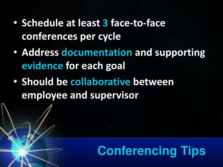 Conferencing Tips