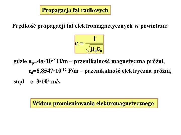 Propagacja fal radiowych