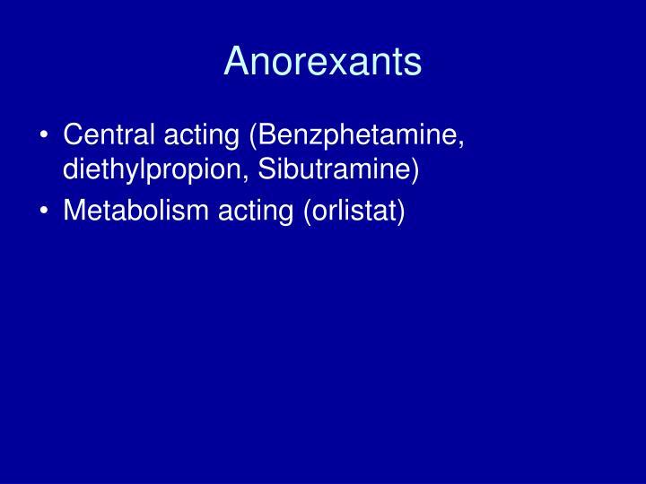 Anorexants