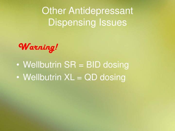 Other Antidepressant