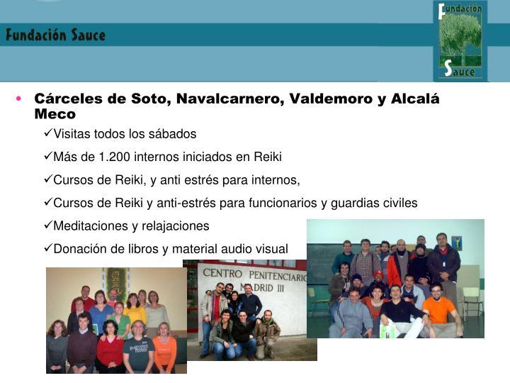 Cárceles de Soto, Navalcarnero, Valdemoro y Alcalá Meco