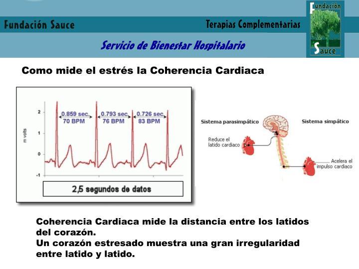 Como mide el estrés la Coherencia Cardiaca