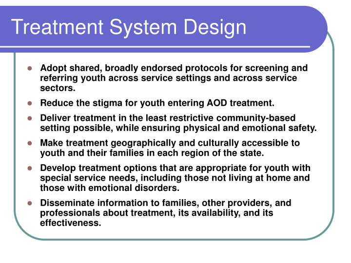 Treatment System Design