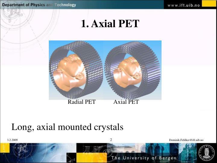 1 axial pet