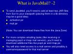 what is javamail 2