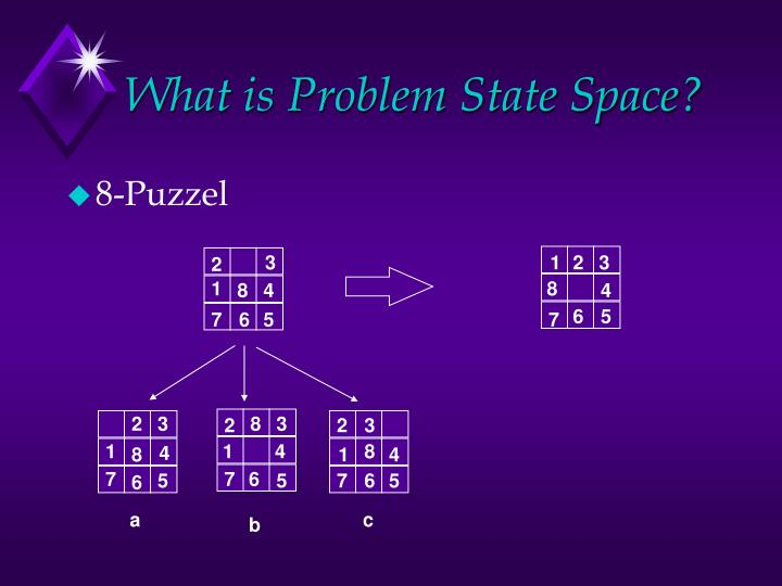 What is problem state space