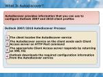 what is autodiscover