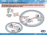 what is exchange activesync