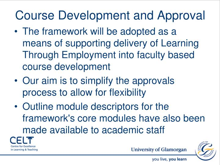 Course Development and Approval