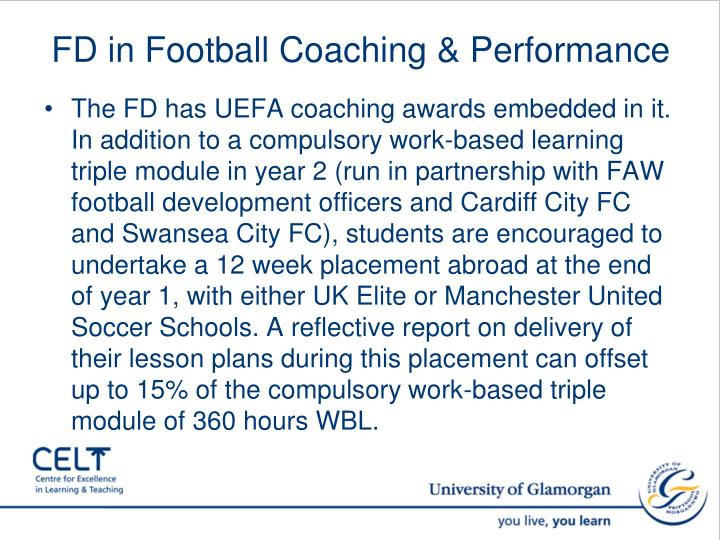 FD in Football Coaching & Performance