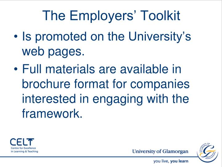 The Employers' Toolkit