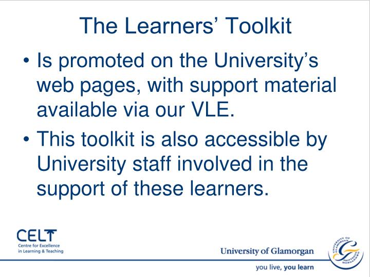 The Learners' Toolkit