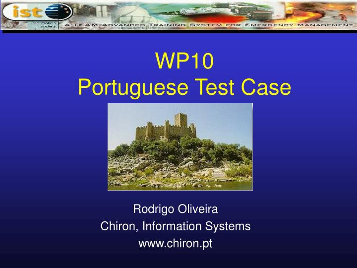 Wp10 portuguese test case