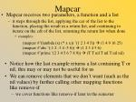 mapcar