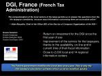 dgi france french tax administration