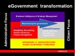 egovernment transformation
