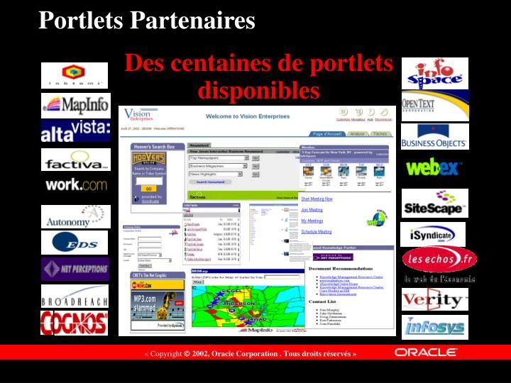 Portlets Partenaires