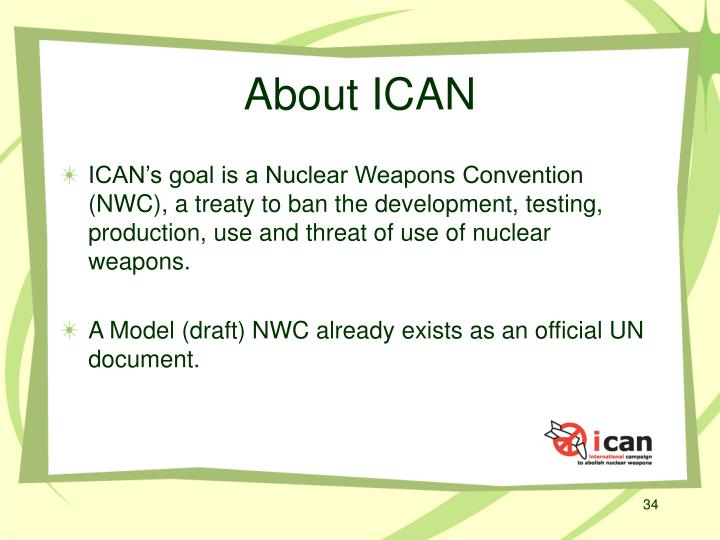 About ICAN