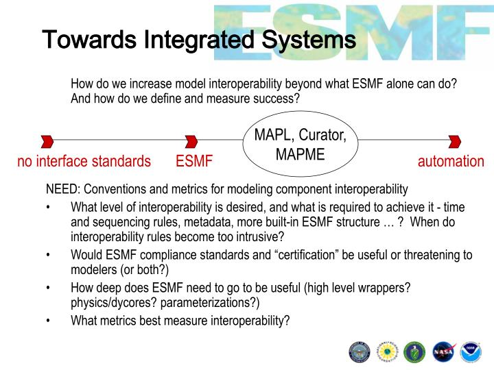 Towards Integrated Systems