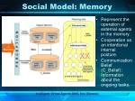 social model memory