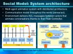 social model system architecture