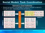 social model task coordination1