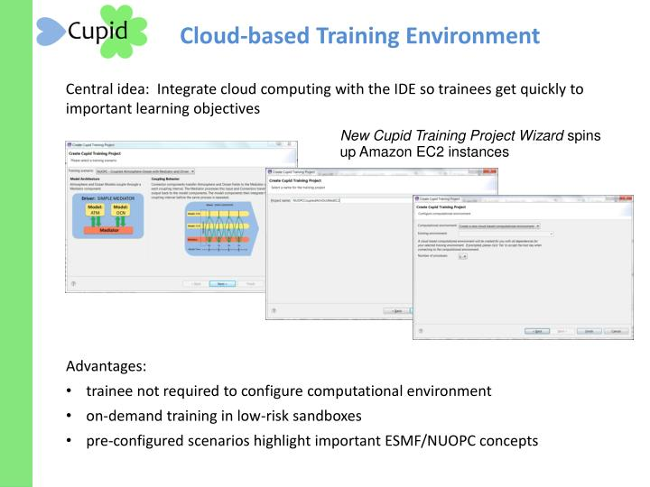 Cloud-based Training Environment
