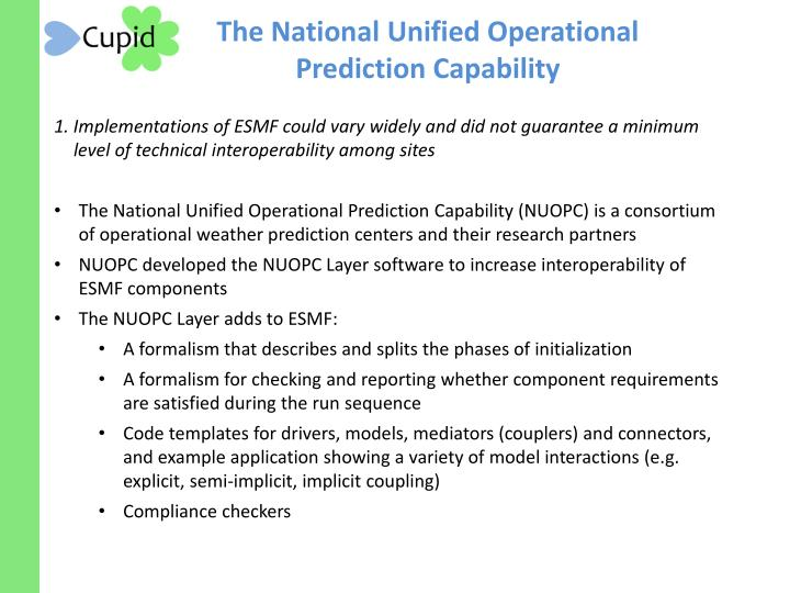 The National Unified Operational