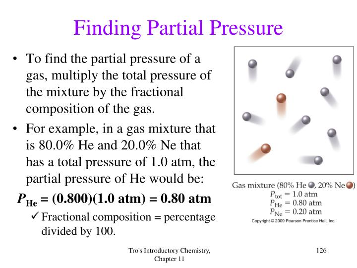 Finding Partial Pressure