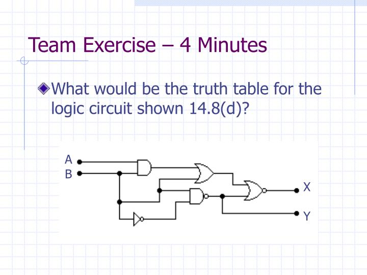 Team Exercise – 4 Minutes