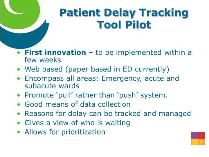 Patient Delay
