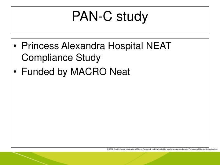 PAN-C study