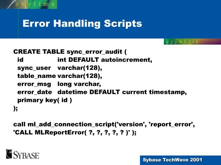 CREATE TABLE sync_error_audit (