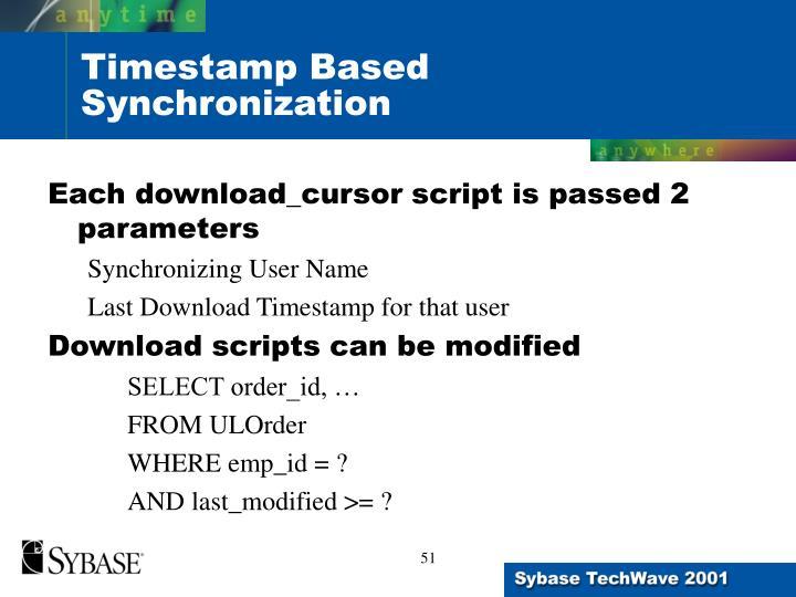 Each download_cursor script is passed 2 parameters
