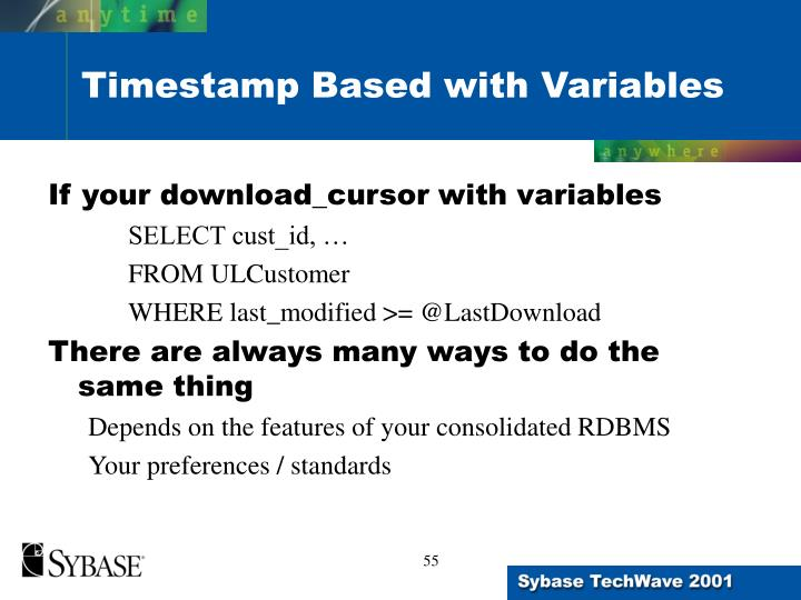 If your download_cursor with variables