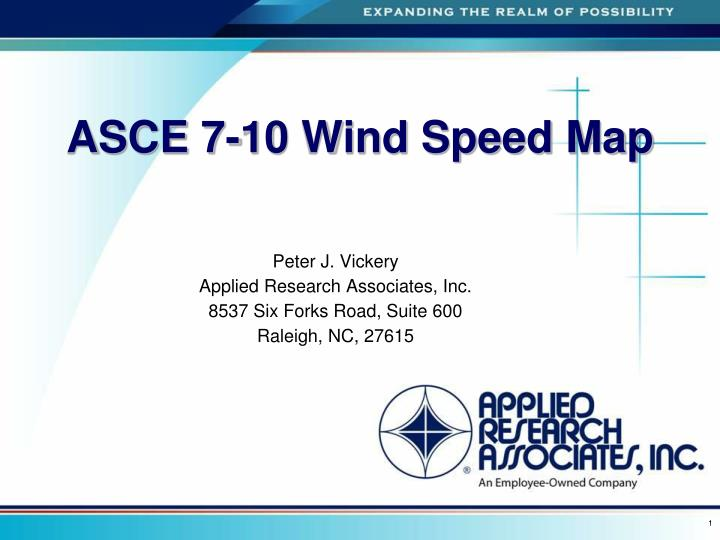 Asce 7 88 Wind Map.Ppt Asce 7 10 Wind Speed Map Powerpoint Presentation Id 4244375