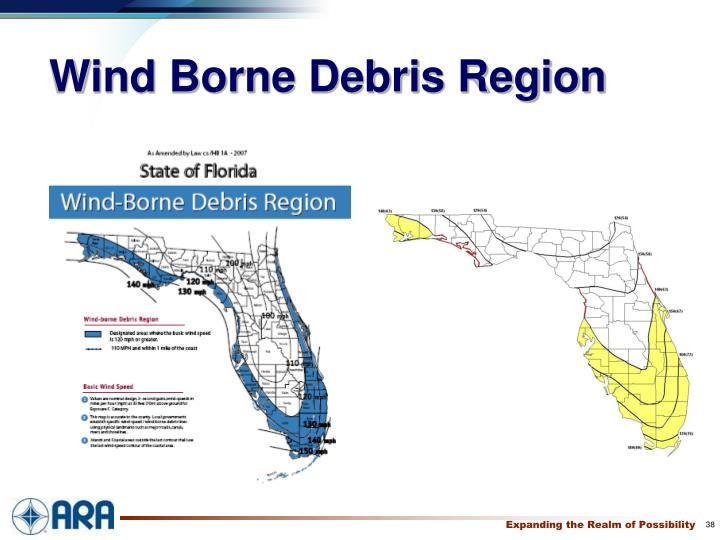 Wind Borne Debris Region