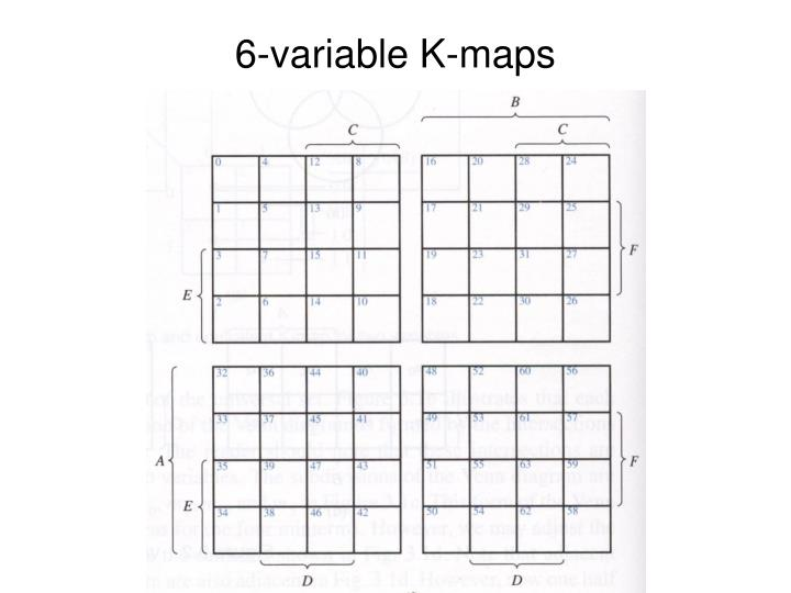 6-variable K-maps