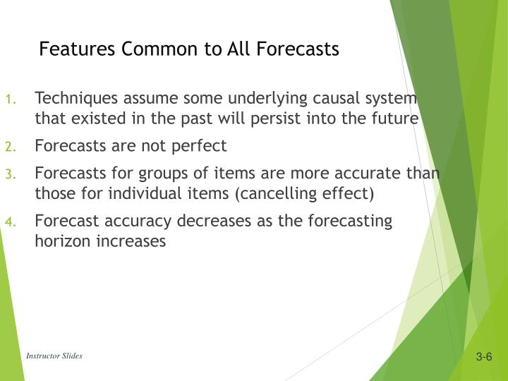Techniques assume some underlying causal system that existed in the past will persist into the future