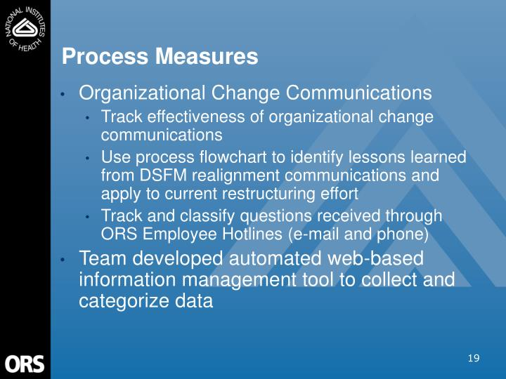 Process Measures