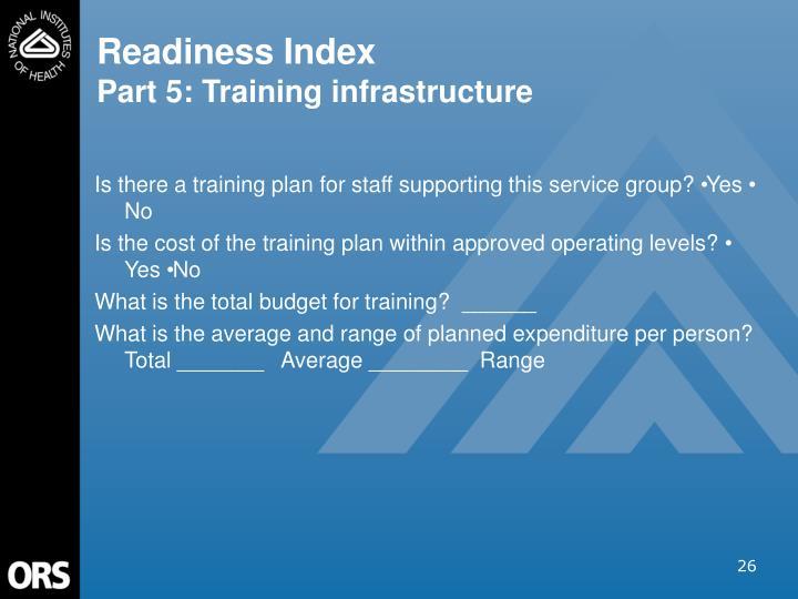 Readiness Index
