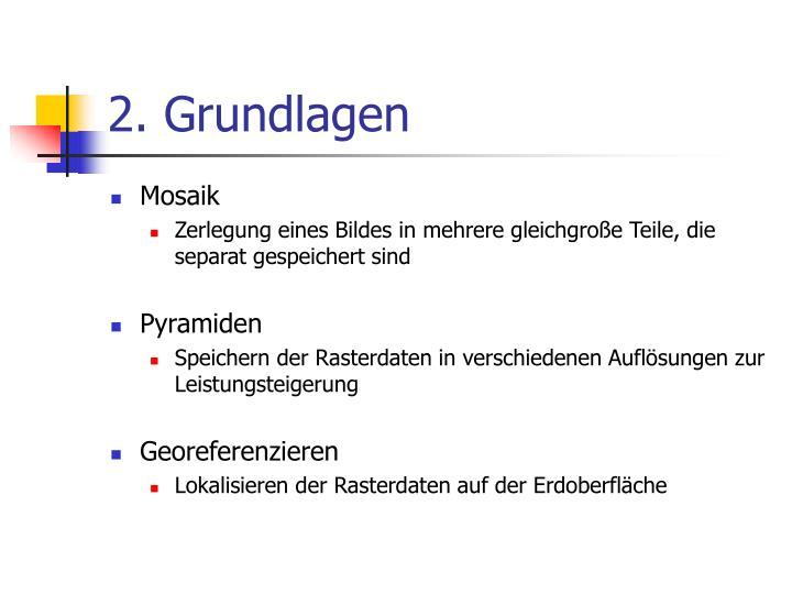 2. Grundlagen