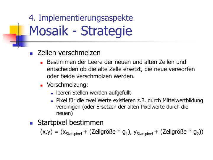 4. Implementierungsaspekte