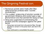 the qingming festival con