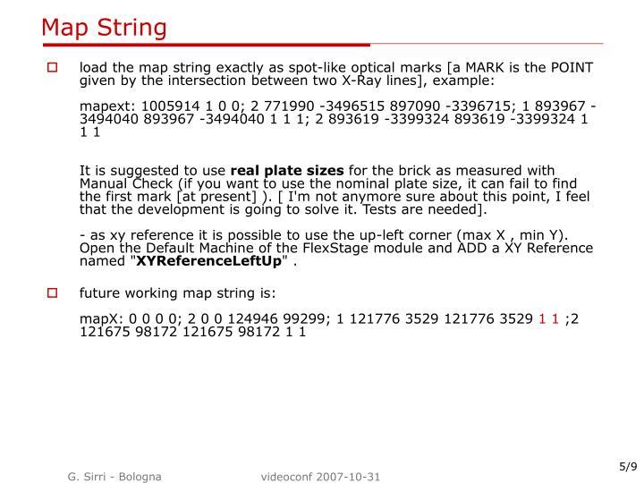 Map String