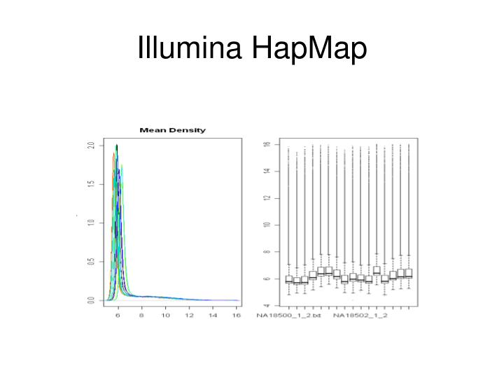 Illumina HapMap