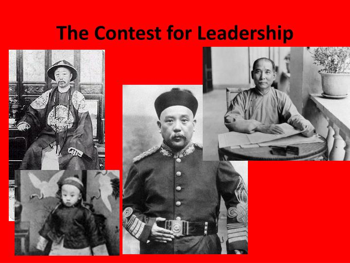 The contest for leadership