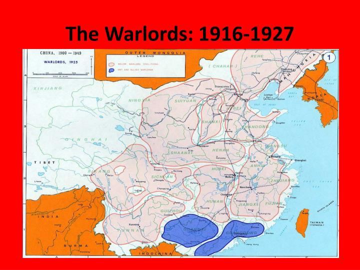 The Warlords: 1916-1927